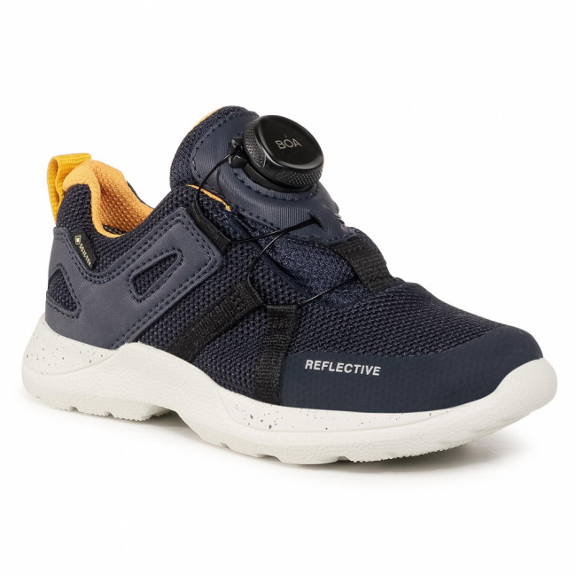 Sneakersy SUPERFIT - GORE-TEX 1-009211-8000 M Blau/Gelb