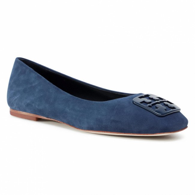 Baleríny TORY BURCH - Georgia Ballet 76545 Perfect Navy