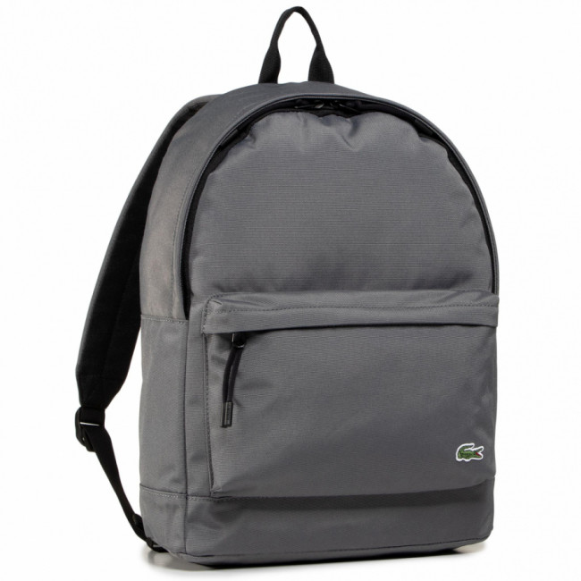 Ruksak LACOSTE - Backpack NH2677NE Smoked Pearl Noir F48