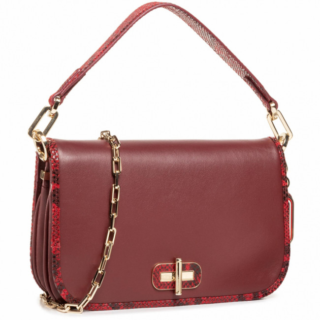 Kabelka TOMMY HILFIGER - Leather Statement Crossover AW0AW09084 VLP