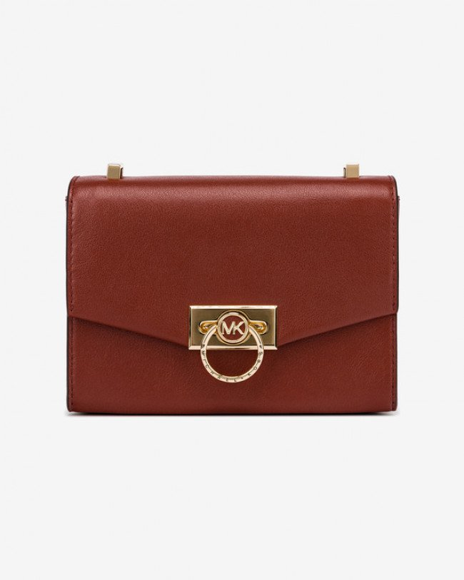 Michael Kors Hendrix Extra Small Leather Cross body bag Červená