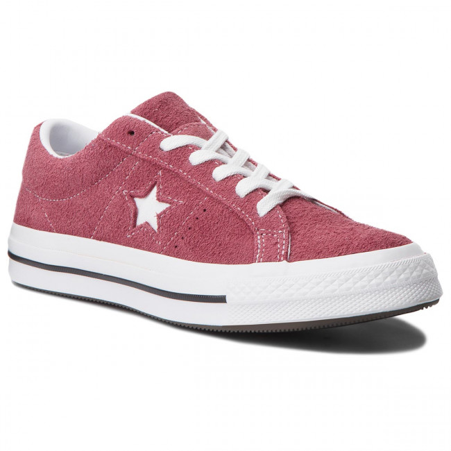 Tenisky CONVERSE - One Star Ox 158370C Deep Bordeaux/White/White