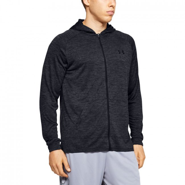 Mikina Under Armour TECH 2.0 FZ HOODIE-BLK