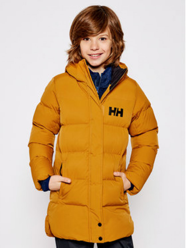 Helly Hansen Vatovaná bunda Junior Luca Puffy 41731 Oranžová Regular Fit