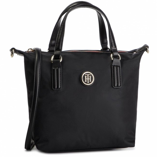 Kabelka TOMMY HILFIGER - Poppy Small Tote AW0AW04361 002