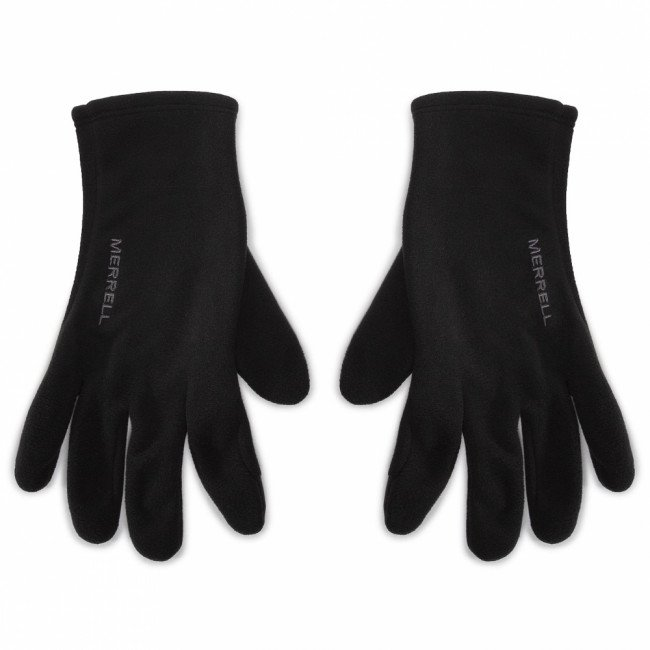 Rukavice Pánske MERRELL - Goretex Fleece Glove GORE-TEX JAF25315 Black 010
