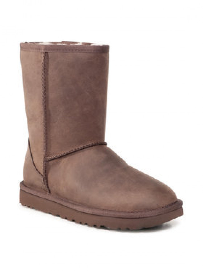 Ugg Topánky Classic Short Leather 1016559 Hnedá
