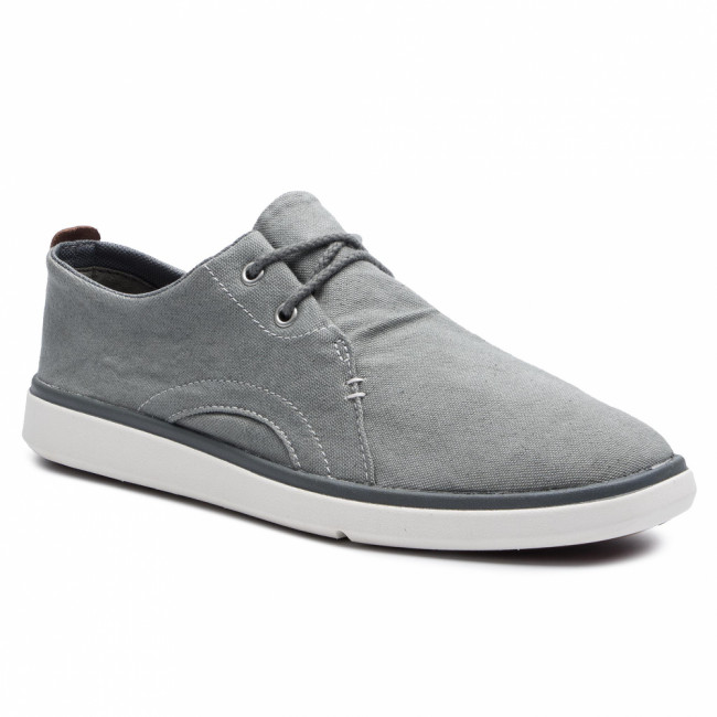 Poltopánky TIMBERLAND - Gateway Pier Casual Oxford TB0A21M1C24 Medium Grey Canvas