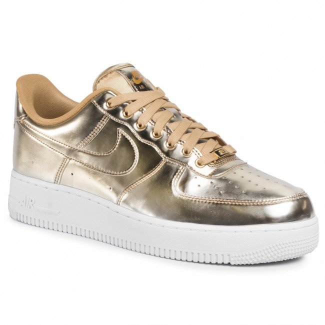 Topánky NIKE - Air Force 1 Sp CQ6566 700 Metallic Gold/Club Gold/White