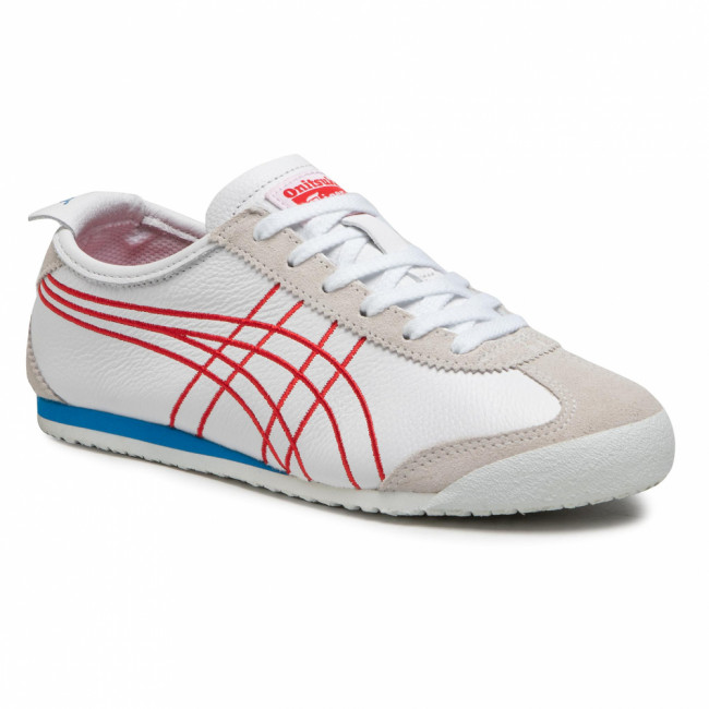 Sneakersy ONITSUKA TIGER - Mexico 66 1183A349 White/Classic Red 103