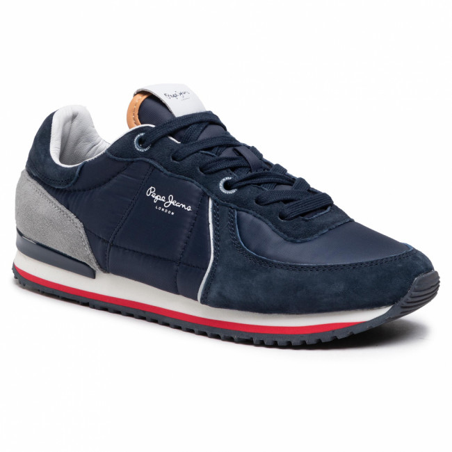 Sneakersy PEPE JEANS - Tinker City 21 PMS30728 Navy 595
