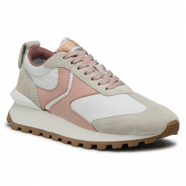 Sneakersy VOILE BLANCHE - Qwark 0012015859.02.1B30 Ice/White