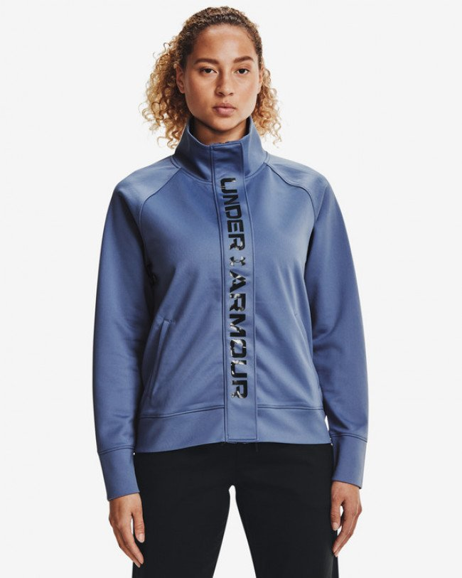 Under Armour Recover Tricot Mikina Modrá