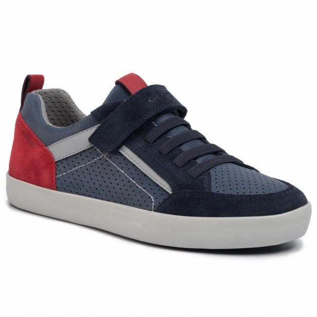 Sneakersy GEOX - J Kilwi B. E J02A7E 0CL22 C4244 D Navy/Dk Red