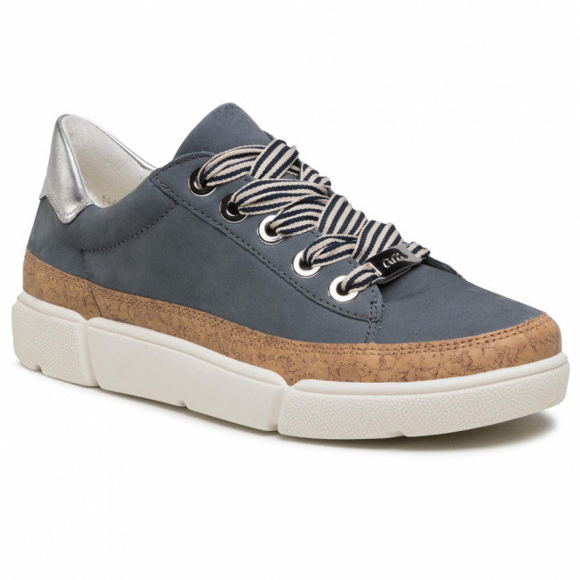 Sneakersy ARA - 12-14404-06 Jeans/Nature/Silber