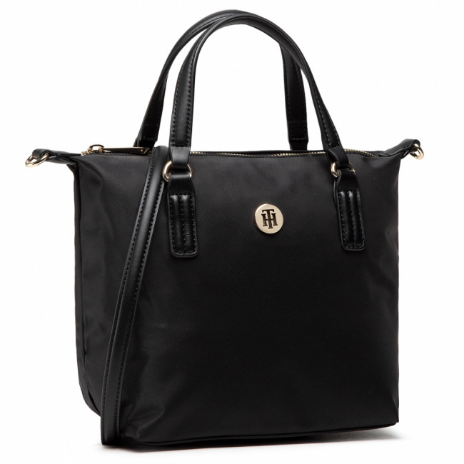 Kabelka TOMMY HILFIGER - Poppy Small Tote AW0AW09697 BLK