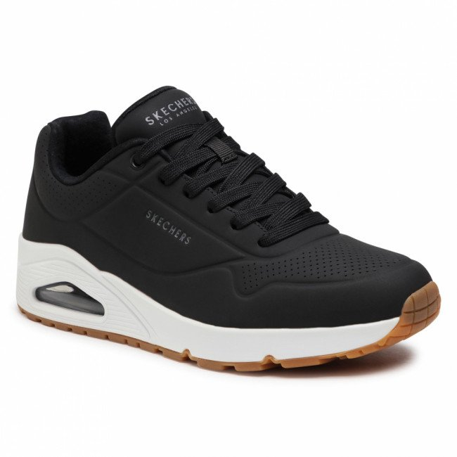 Sneakersy SKECHERS - Stand On Air 52458/BLK Black