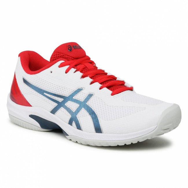 Topánky ASICS - Court Speed FF 1041A092  White/Mako Blue 105