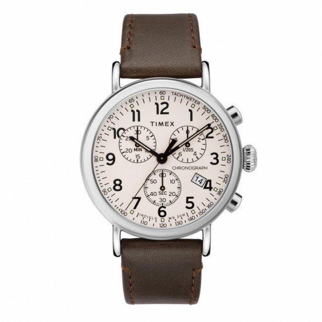 Hodinky TIMEX - Standard TW2T21000 Brown/Silver