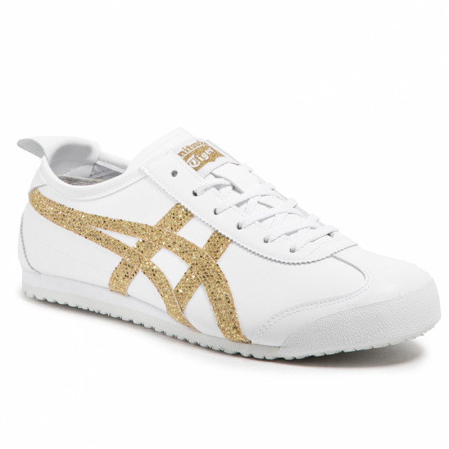 Sneakersy ONITSUKA TIGER - Mexico 66 1182A366 White/Pure Gold 100