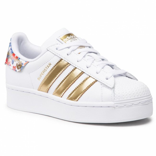Topánky adidas - Superstar Bold W FY3653  Ftwwht/Ftwwht/Supcol