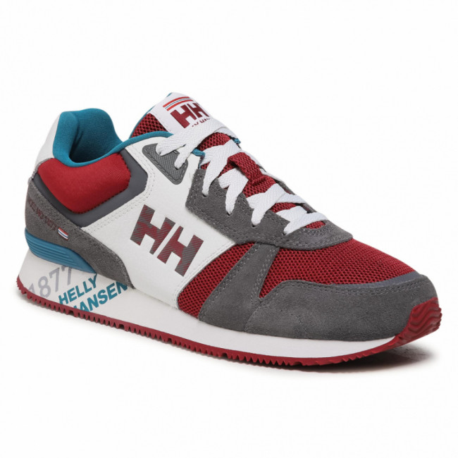 Sneakersy HELLY HANSEN - Anakin Leather 11718-964 Charcoal/Off White/Oxblood