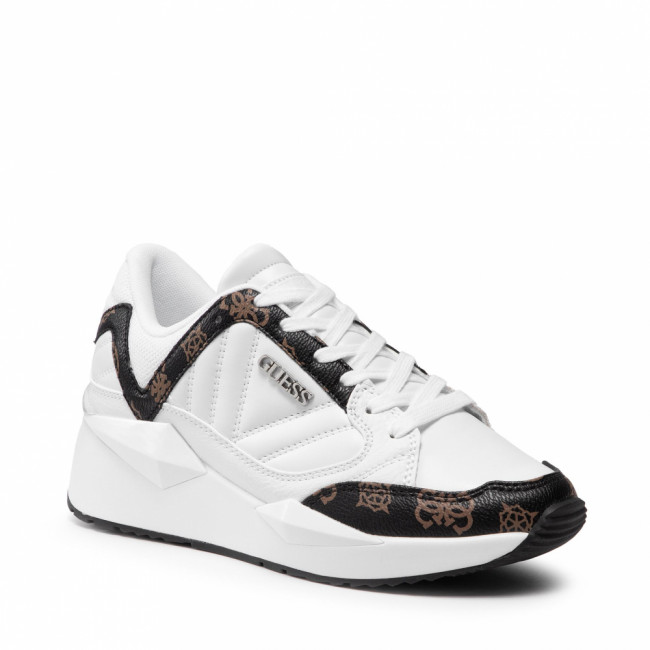Sneakersy GUESS - Traves FL7TRS FAL12  WHIBR