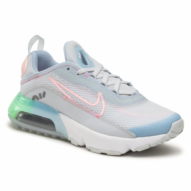 Topánky NIKE - Air Max 2090 Se (Gs) VW5627 001 Pure Platinum/Arctic Punch