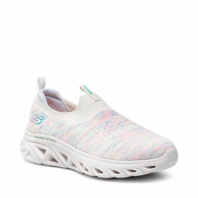 Sneakersy SKECHERS - Lively Glow 149328/WMLT White/Multi