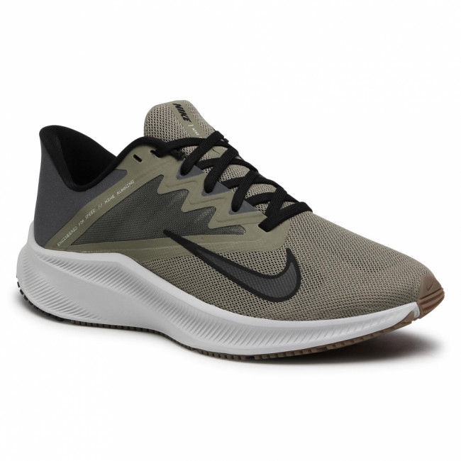 Topánky NIKE - Quest 3 CD0230 300 Light Army/Black/Iron Grey
