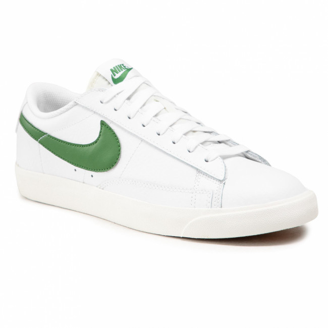 Topánky NIKE - Blazer Low Leather CI6377 108 White/Forest Green/Sail