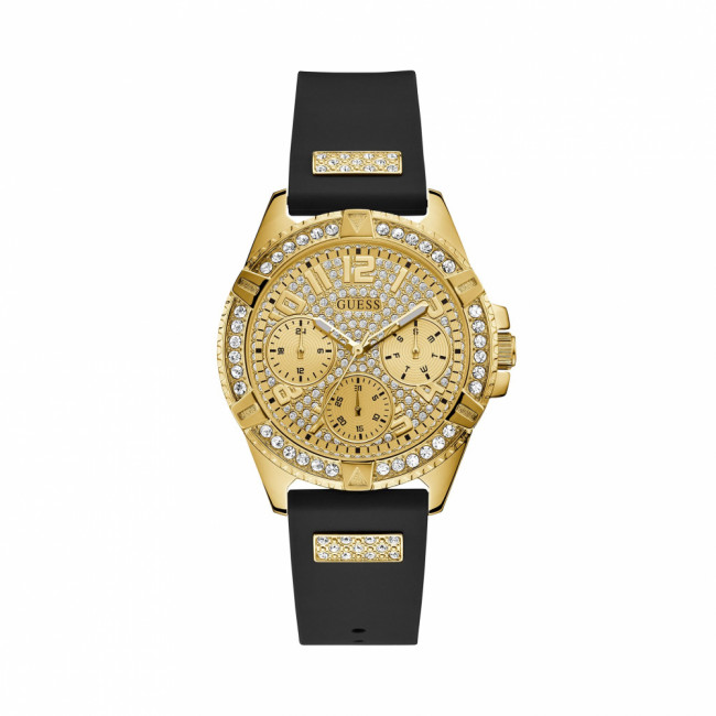 Hodinky GUESS - Lady Frontier W1160L1 BLACK/GOLD