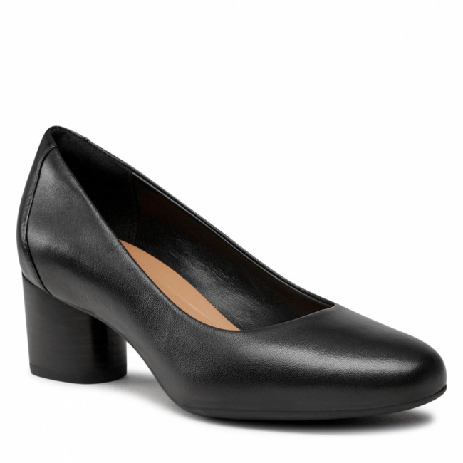 Poltopánky CLARKS - Un Cosmo Dress 261517164 Black Leather