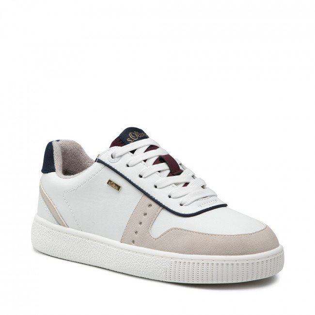 Sneakersy S.OLIVER - 5-23611-37 White Comb. 110