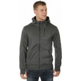 Fox Manic Zip mikina Heather Graphite