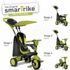 SMART TRIKE Trojkolka Spark Black/green