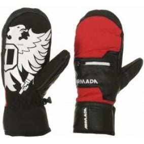 rukavice Armada Tremor Mitt - Red M
