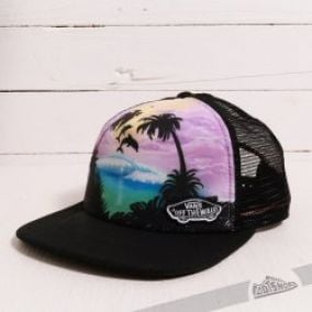 Vans Beach Girl Trucker Dolphin Beach/Black/True