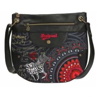 Desigual Crossbody kabelka Brooklyn Red Balls