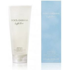 Dolce & Gabbana Light Blue telový krém 100 ml