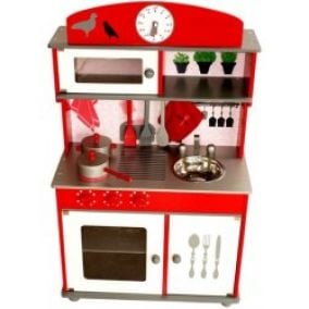 Aga4Kids kuchynka RED HOME KITCHEN