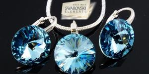 Elegantný set šperkov Swarovski Elements