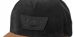 VANS Pánska šiltovka Full Patch Snapback Black /