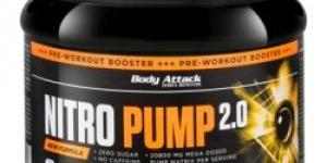 Body Attack Nitro Pump 2,0 400 g