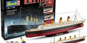 Titanic Gift set 2 ks 1 700 a 1 1200 1:700