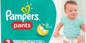 PAMPERS Pants 3 midi 6-11kg 120ks
