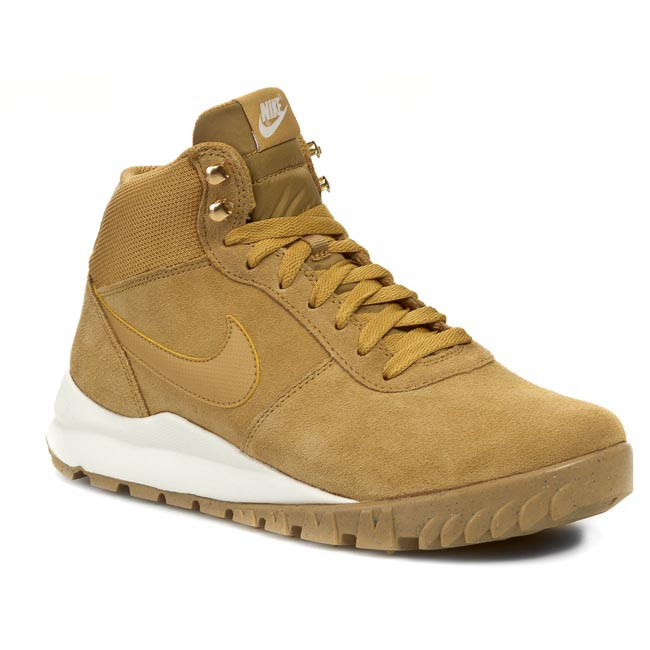 Topánky NIKE - Hoodland Suede 654888 727 Haystock/ Light Brown/ Metallic Gold