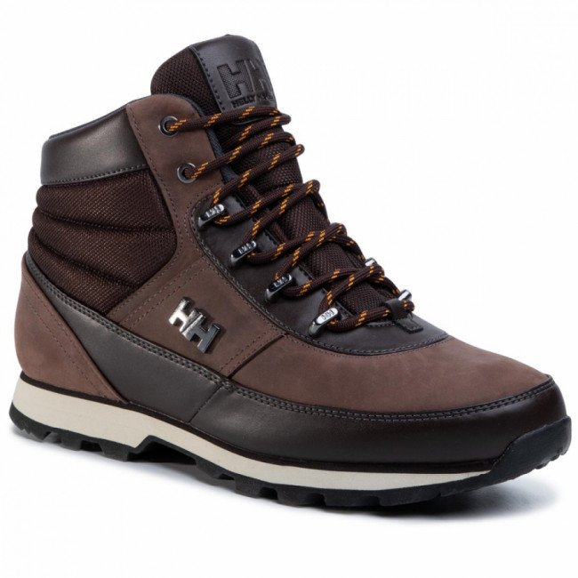 Trekingová obuv HELLY HANSEN - Woodlands 108-23.710 Coffe Bean/Natura/Black/Ebony/Clementine
