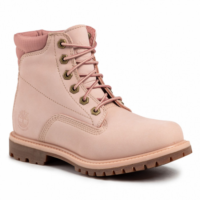 Outdoorová obuv TIMBERLAND - Waterville 6 in Waterproof Boot TB0A1QT5662 Light Pink Nubuck