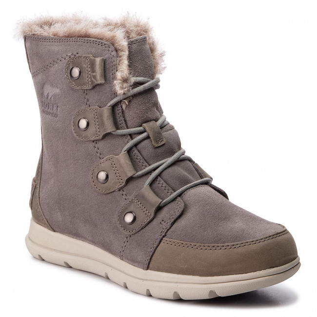 Snehule SOREL - Explorer Joan NL3039 Quarry/Black 052